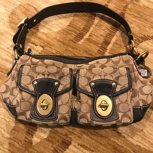 Coach Signature Handbag